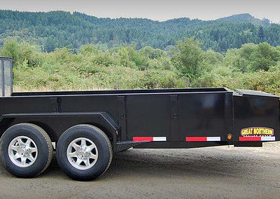 Great Northern Tandem Landscape Trailer