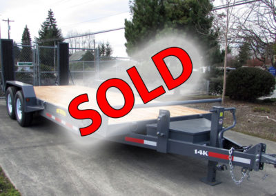 Great Northern 20′ 14K Deck Between with Dove Trailer