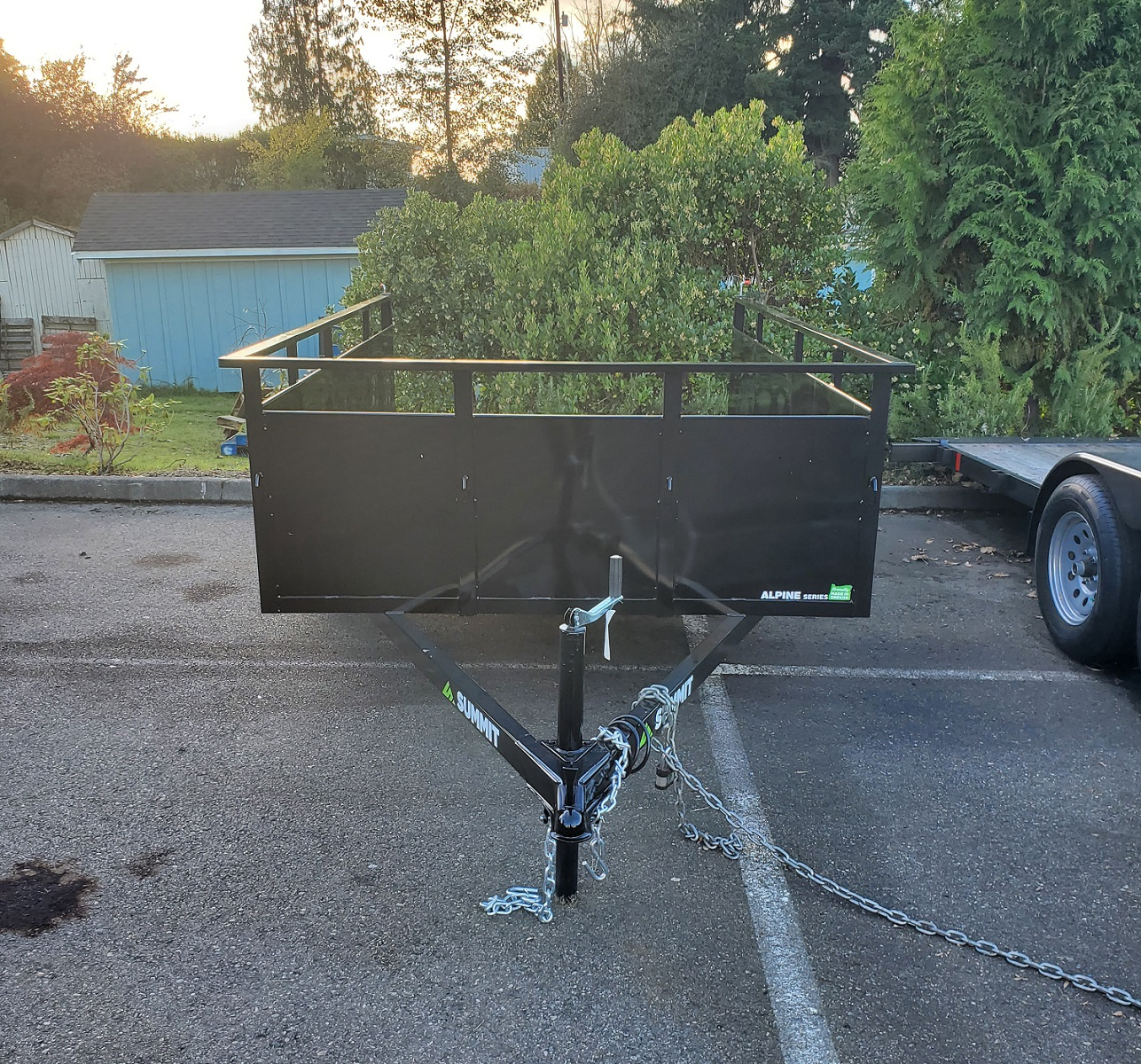 Summit Alpine 6x10 utility trailer available at Kirshner Trailer Sales